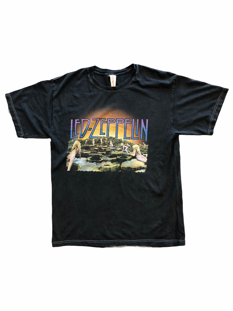 vintage Led Zeppelin t-shirt Houses of the holy - Heavy-Metal-Addict
