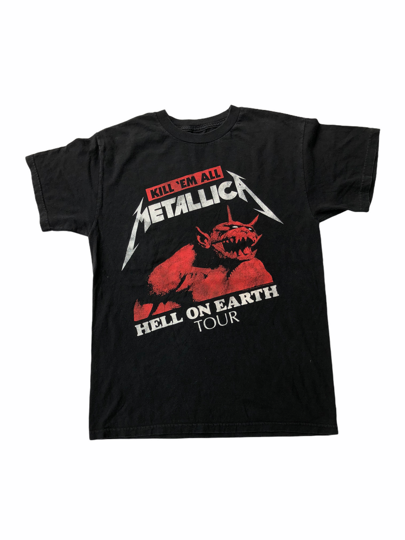 vintage metallica t-shirt kill' em all-Heavy-Metal-Addict
