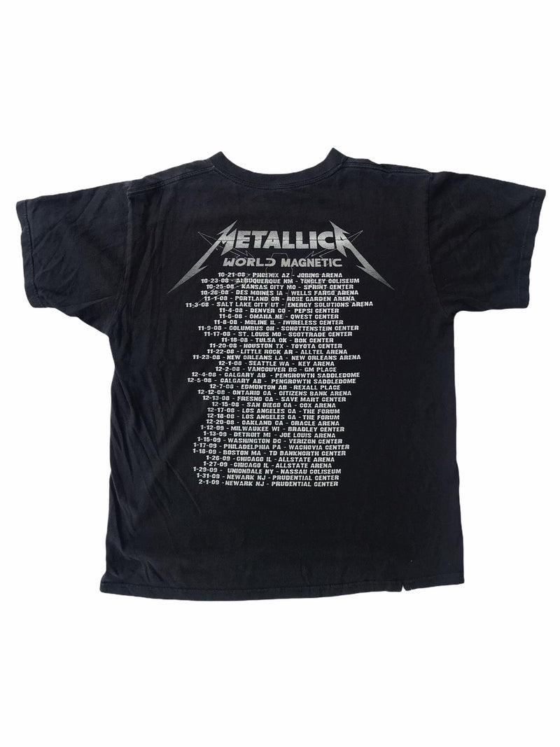 vintage metallica tee shirt world magnetic tour-Heavy-Metal-Addict