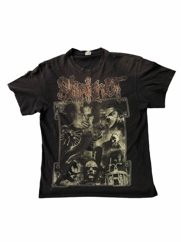 vintage slipknot t-shirt mayhem-Heavy-Metal-Addict
