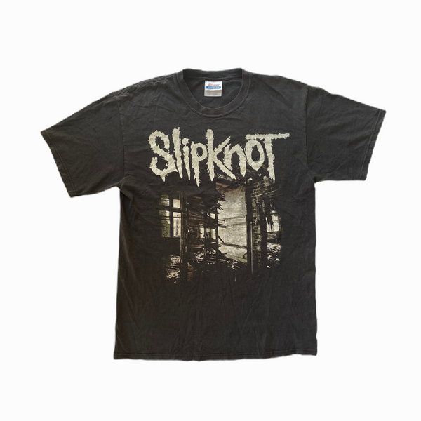Vintage Slipknot t-shirt Nonagram - Heavy-Metal-Addict