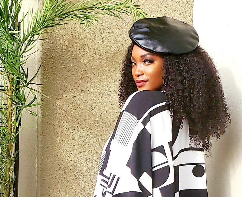 Patent Leather Beret !