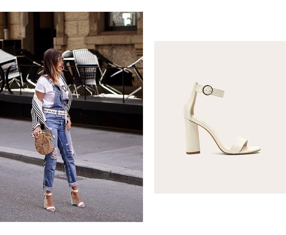 poilei blogger look the fashion pheromone highheels sandaletten mariella weiß
