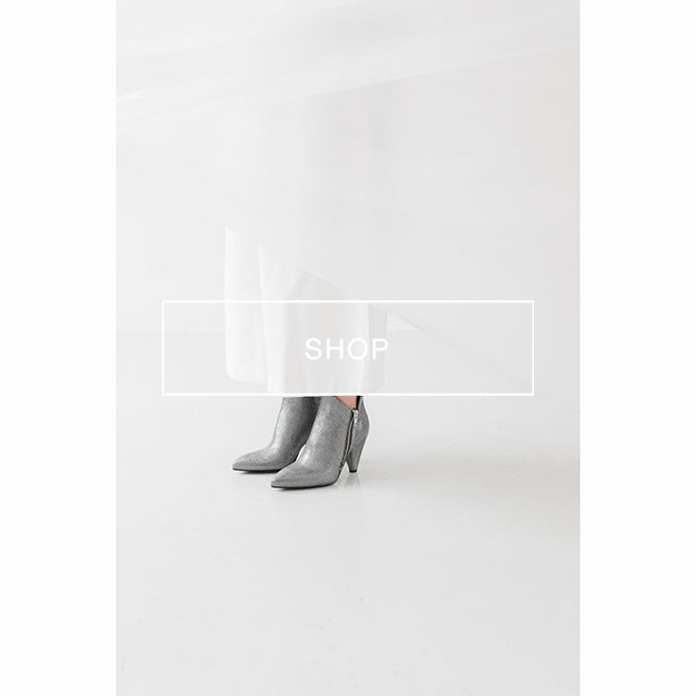 poilei ankle boot marlena silber