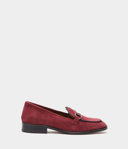 PoiLei Leder Loafer Greta Bordeaux Side