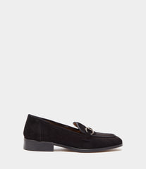 PoiLei Leder Loafer Greta Schwarz Side