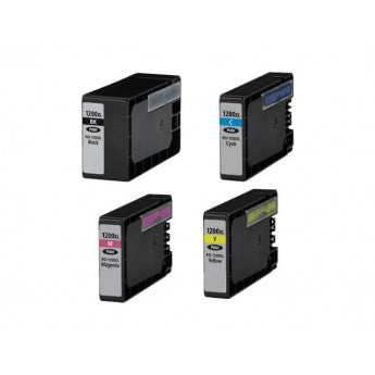 Canon Compatible 1200xl Ink Cartridge Combo Pack (BK / C/ M / Y)