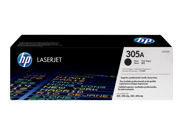 Original HP CE410A New Black Toner Cartridge (305A)