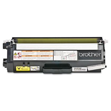 Original Brother TN-315Y New Yellow Toner Cartridge (High Capacity Version of TN-310Y)