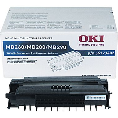 Okidata 56123402 Original Black Toner Cartridge (High Yield)