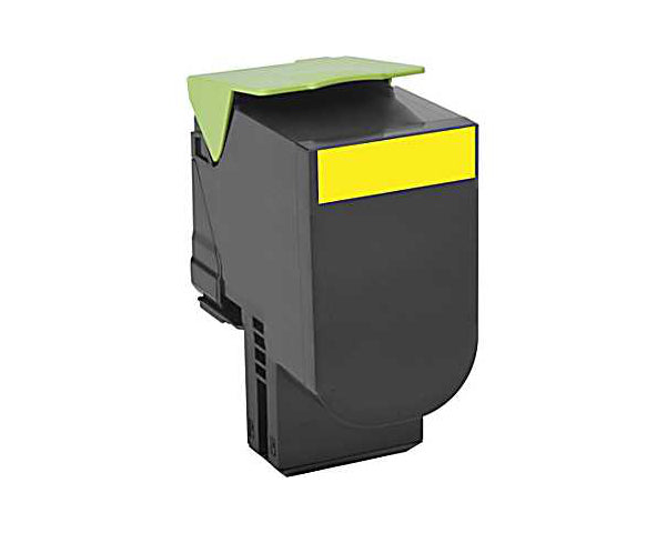 Remanufactured 71B10Y0 YELLOW Toner Cartridge for Lexmark CS317,CX317,CS417,CX417,CS517,CX5