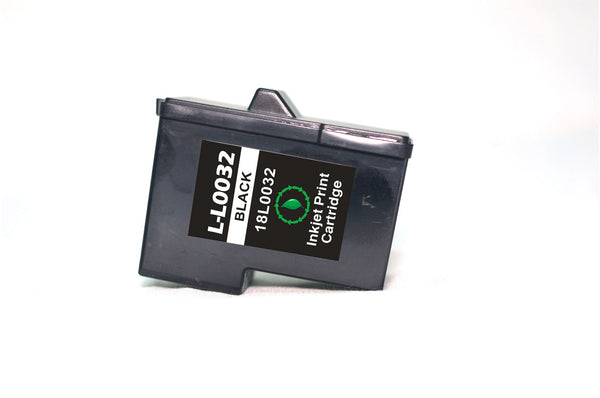Lexmark 82 Black Remanufactured Inkjet Cartridge (18L0032)