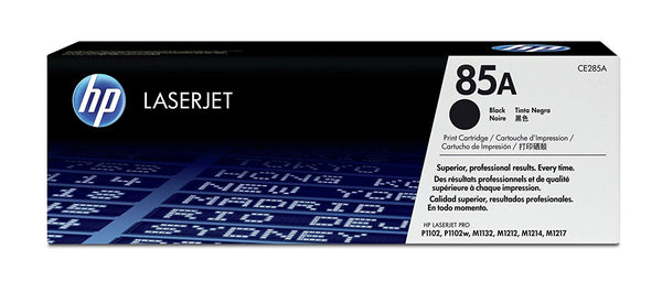 Original HP CE285A New Black Toner Cartridge - (85A)