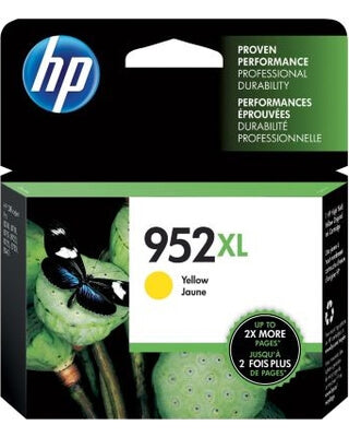 HP 952XL (L0S67AN) Original Yellow Ink Cartridge (High Yield)
