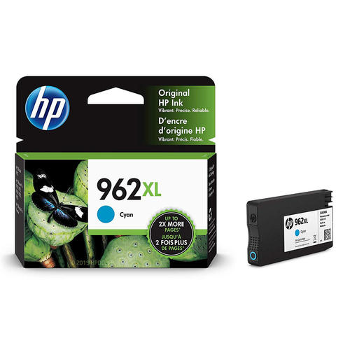 HP 962XL 3JA00AN#140 Original Cyan Ink Cartridge High Yield