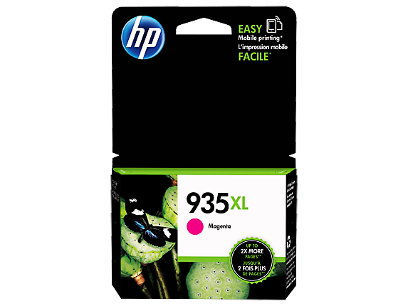 Original HP 935XL Magenta High Yield Original Ink Cartridge (C2P25AN)