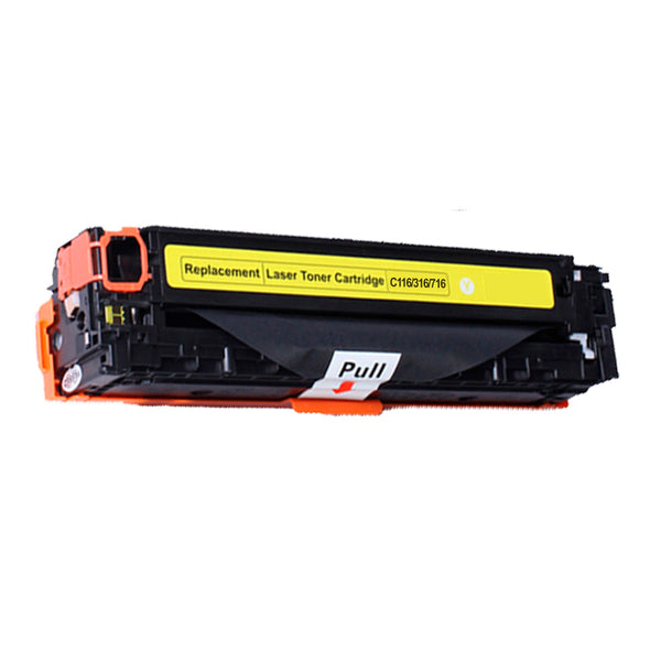 Canon 116 New Compatible Yellow Toner Cartridge
