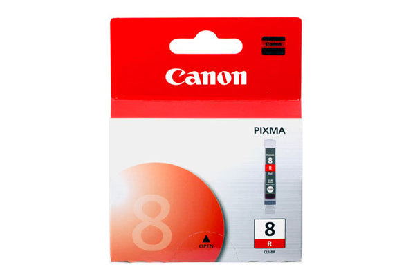 Original Canon® CLI-8R Red Ink Tank (0626B002)