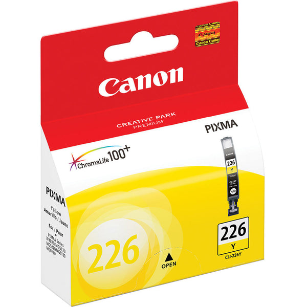 Original Canon CLI-226Y New Yellow Inkjet Cartridge (4549B001AA)