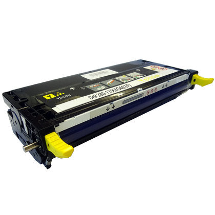 Dell 330-1196(G481F)Remanufactured Yellow Toner Cartridge,Dell 330-1204(G485F)