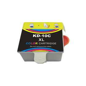 Kodak 10XL 8966 New Color Compatible Inkjet Cartridge - High Capacity (1810829-8946501)