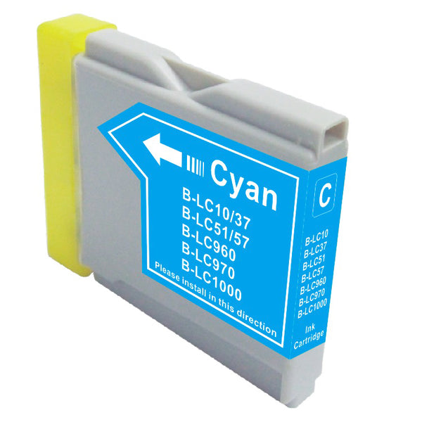 Brother LC-51C New Cyan Compatible Inkjet Cartridge (LC-51C)