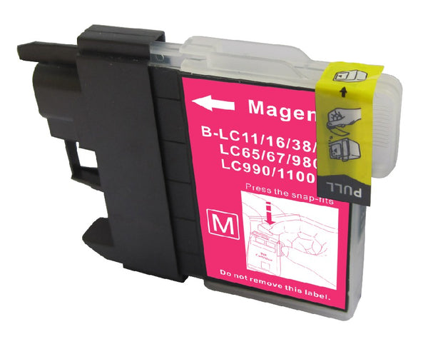 Brother LC-61C New Cyan Compatible Inkjet Cartridge (LC-61C)