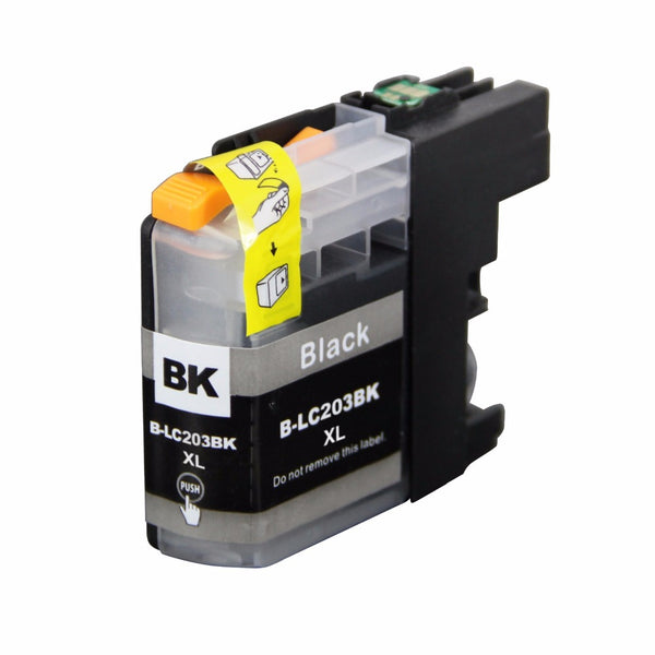 Brother LC-203XL BK New Black Compatible Inkjet Cartridge (LC-203BK)