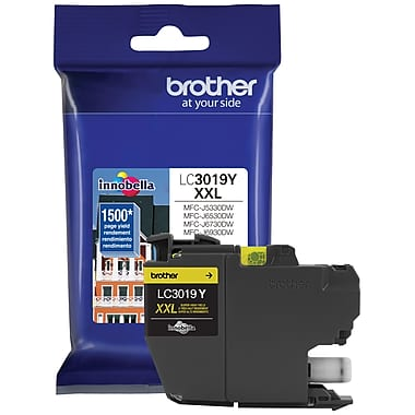 Original Brother LC3019Y Yellow Ink Cartridge Extra High Yield