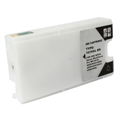 Epson 676XL New Black Compatible Inkjet Cartridge (High Capacity Version of Epson T676)