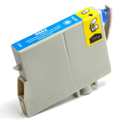 Epson T060 New Cyan Compatible Inkjet Cartridge (T060220)