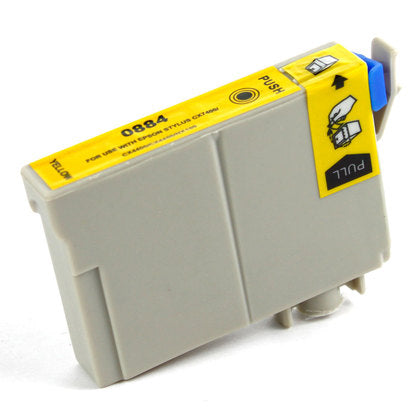 Epson T088 New Yellow Compatible Inkjet Cartridge (T088420)