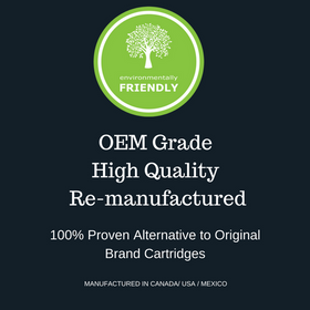 OEM Grade Remanufactured HP 130 Black CF350A (HP 130A) - Environmental Friendly