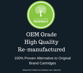 OEM Grade Remanufactured Canon 131 Cyan Toner Cartridge & HP 131 Cyan (CF211A) - Environmental Friendly