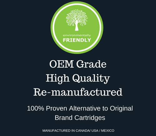 OEM Grade Remanufactured Canon 131 Black Toner Cartridge & HP 131X High capacity of HP131 (CF210X ) - Environmental Friendly (High Capacity of 131A)
