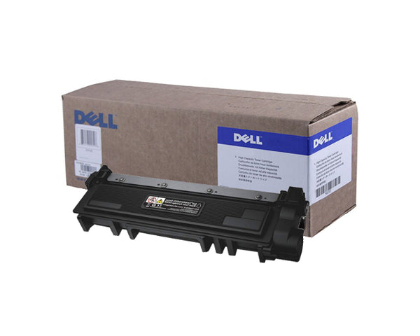 Dell Toner Cartridge, Laser, High Yield, Black, (P7RMX)