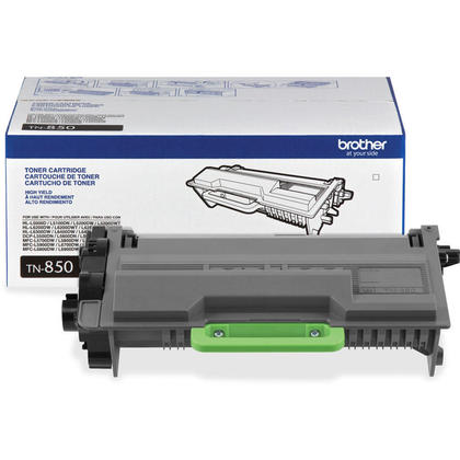 Brother TN850 Original Black Toner Cartridge (High Yield)