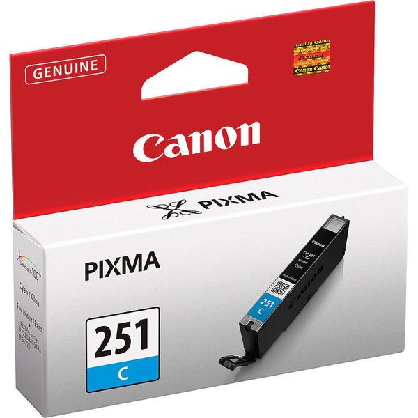 Original Canon® CLI-251XL Cyan Ink Tank, High-Yield