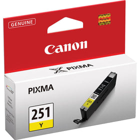 Original Canon® CLI-251XL Yellow Ink Tank, High-Yield