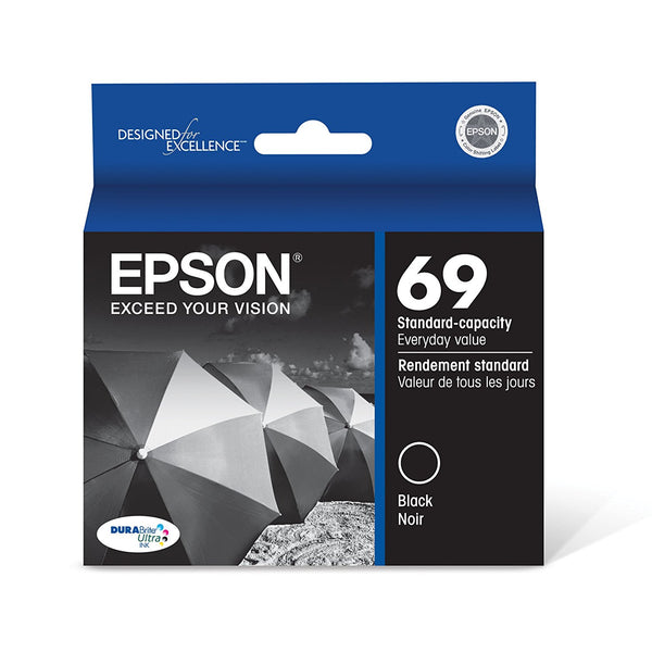Original Epson® 69 (T069120) Black Ink Cartridge