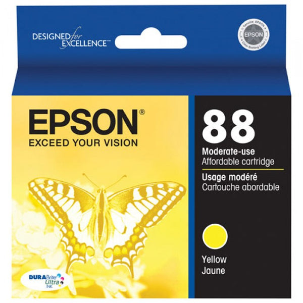 Original Epson® 88 (T088420) Yellow Ink Cartridge