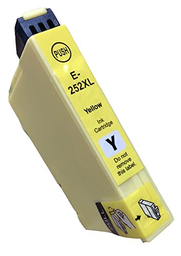 Epson T252XL420 New Yellow Compatible Inkjet Cartridge - High Capacity (252XL)
