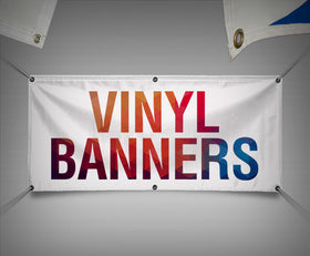 Custom Vinyl Banners (Contact us for More detail and pricing)