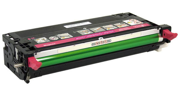 Compatible Magenta Toner Cartridge, Dell 3115, High-Yield (310-8399 XG723)