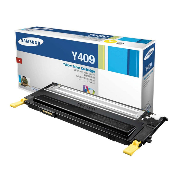 Original Samsung CLT-Y409S New Yellow Toner Cartridge