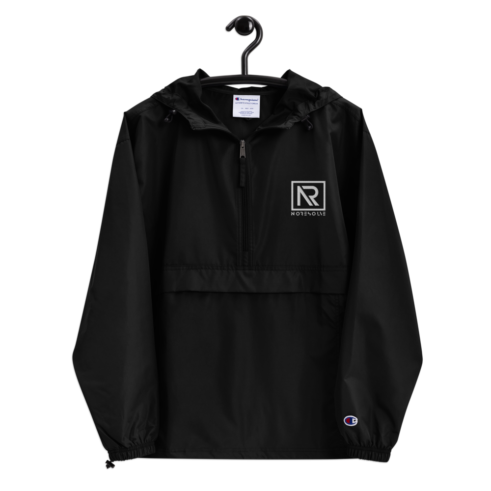 No Resolve | Embroidered Champion Packable Jacket
