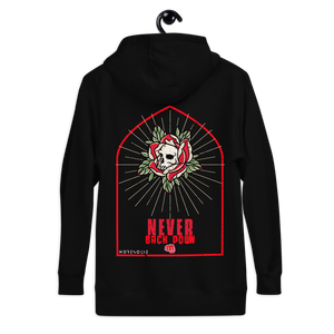 """Never Back Down"" Official No Resolve Unisex Hoodie"