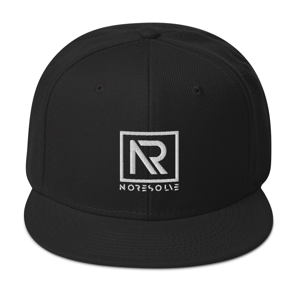 Official No Resolve | Snapback Hat
