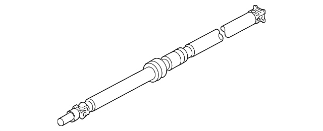 Bug Eye Impreza Automatic Tail Shaft