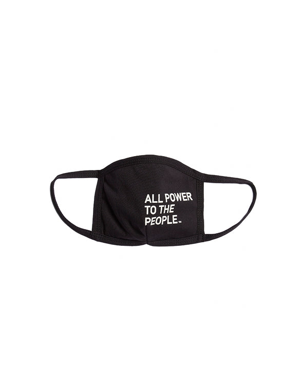 ALL POWER- 2-ply Reusable Face Mask-APTTP26- Black